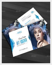Beauty Clinic Business Coupon Template