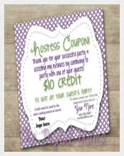 Easy To Print Referral Coupon Template