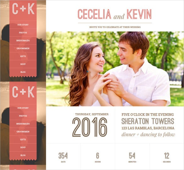 responsive photo wedding wordpress theme