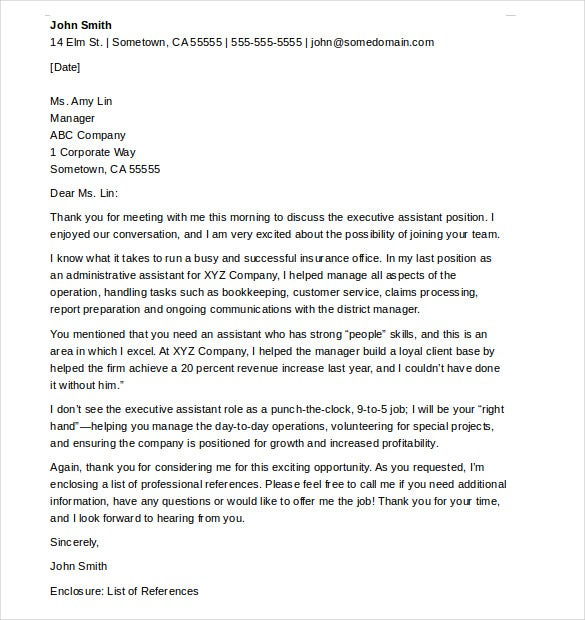 How to Write a Formal Thank You Letter jeppefm