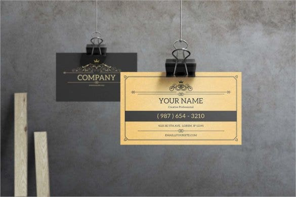 vintage-business-card-template