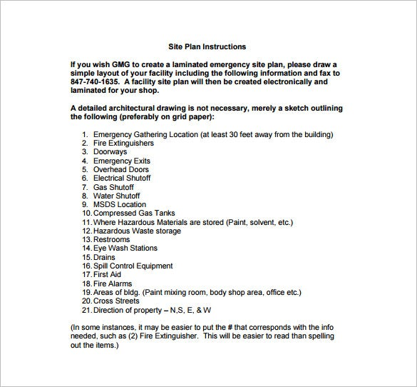 emergency evacuation checklist template