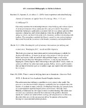 Blank APA Annotated Bibliography Template PDF Download