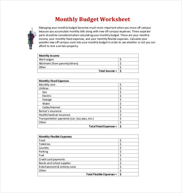 Printables Financial Math Worksheets financial math worksheets templates and worksheet