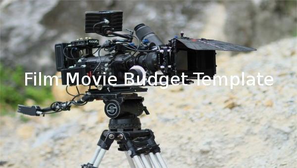 filmmoviebudgettemplate