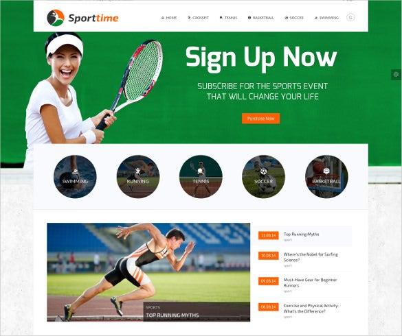 sports gym wordpresswebiste theme
