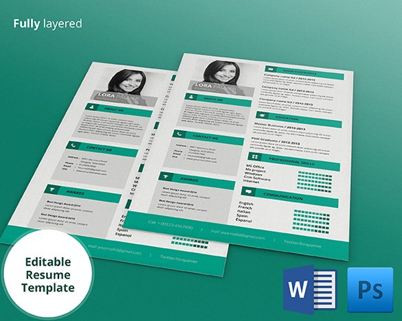Creative Resume Template – 81+ Free Samples, Examples, Format