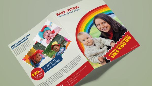 babysitting_a4bifold_brochuretemplate