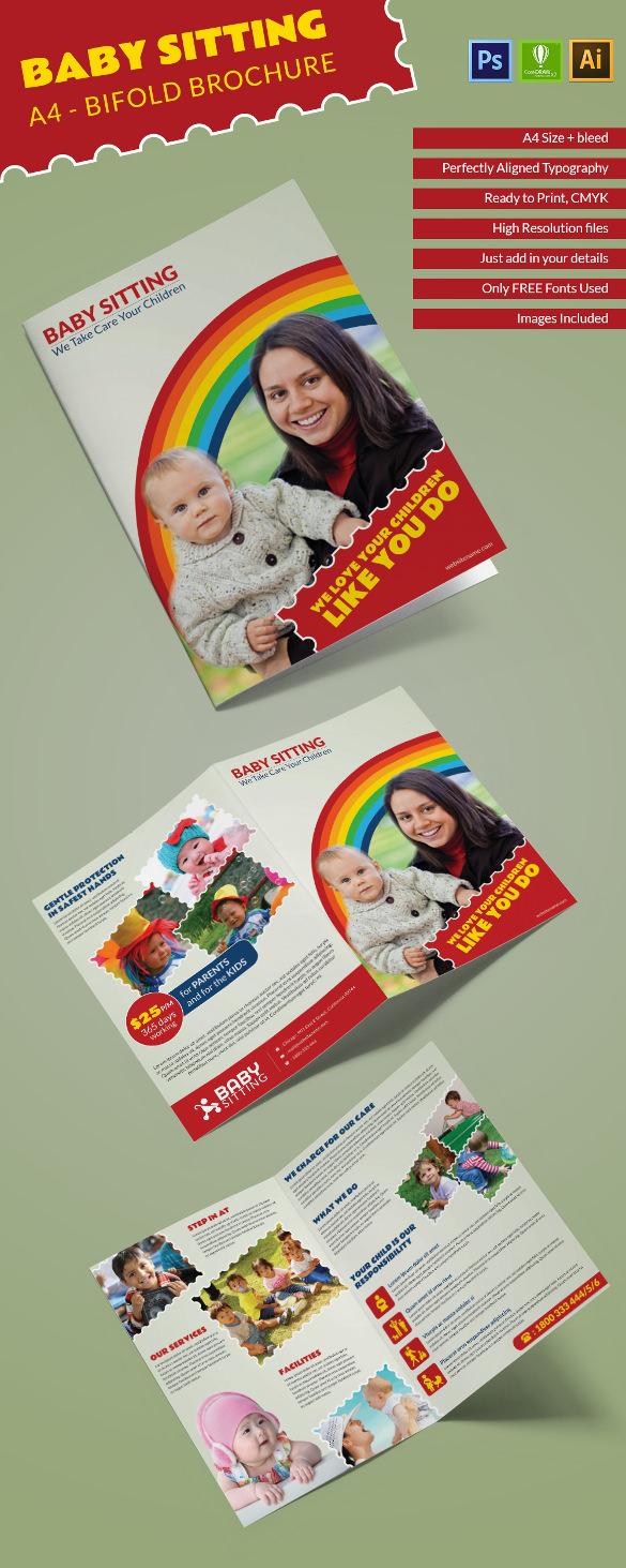 Babysitting_A4bifold_brochure