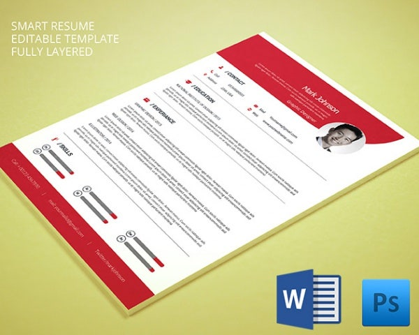 creative graphic designer resume for windows mac