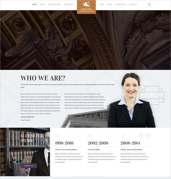 multi purpose accounting business wordpress websitetemplate