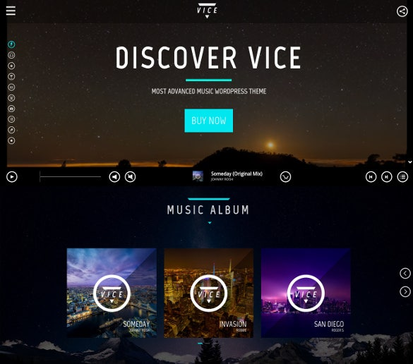 premium radio wordpress website theme