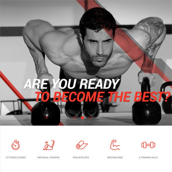 sport blog fitness club gym joomla theme