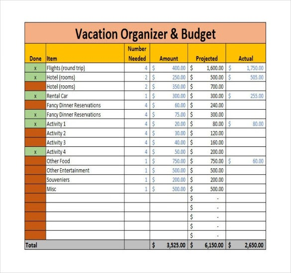 holiday budget spreadsheet koni polycode co