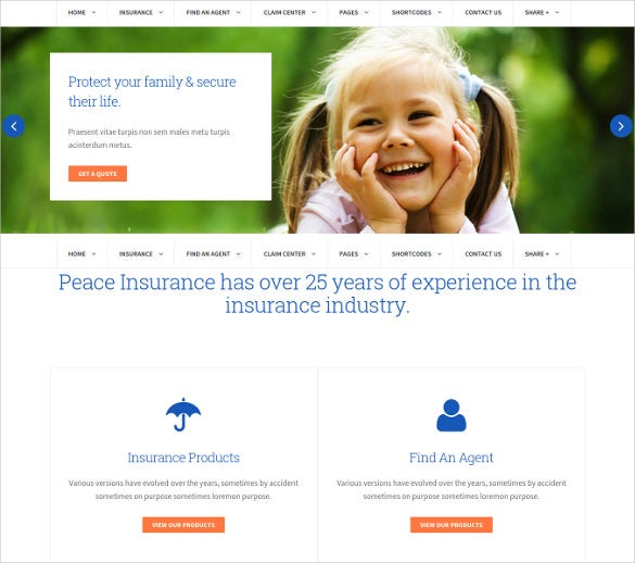 premium mortgage agency wordpress website template