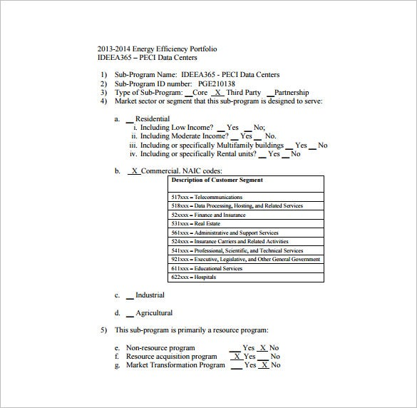 program implementation plan free pdf template download