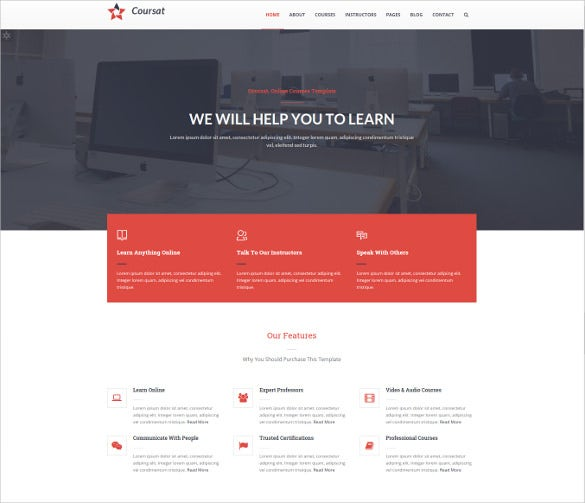 multipurpose education drupal website template