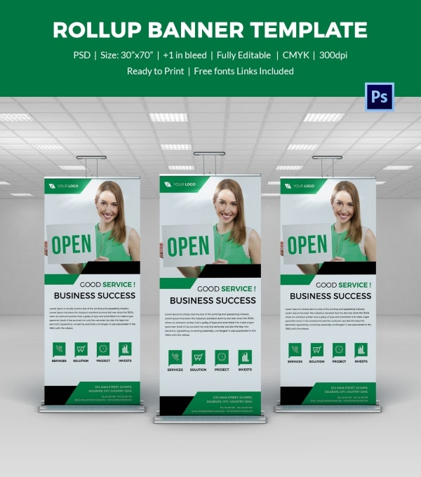 Official Rollup Sample Banner Template