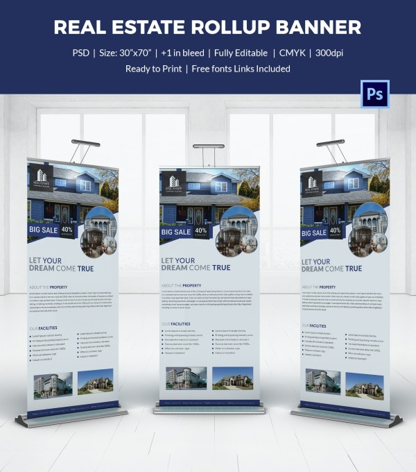 Real Estate Rollup Sample Banner Template