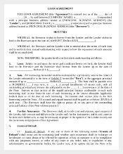 408 agreement templates free sample example format download loan agreement template business loan agreement flashek Choice Image