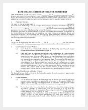 real estate partnership agreement1