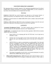 Sample Voluntary Separation Agreement