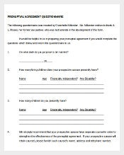 Free Prenupital Agreement Template