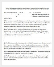 Sales Representative Commission Agreement Template