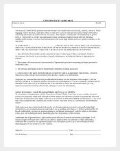HR Confedential Agreement Template