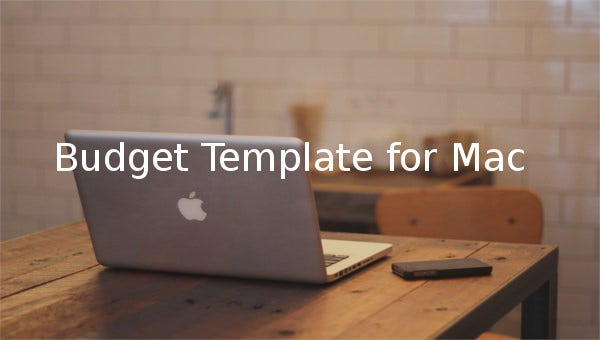 budget template for mac