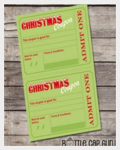 Printable Christmas Coupon Termplate