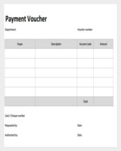 Payment Coupon Template