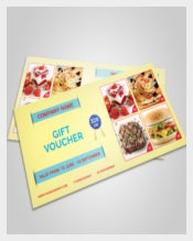 Food Business Coupon Template