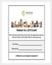 Coupon Template For Animal Hospital