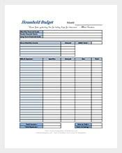 basic budget template