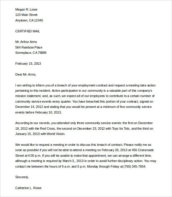 legal letter format  Legal Letter Template - 12  Free Sample, Example Format Download ...