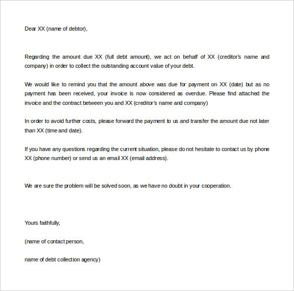 Legal Letter Template   Free Sample Example Format Download