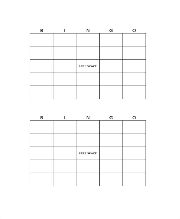 Word bingo template 5 free word documents download free bingo template word thecheapjerseys Image collections