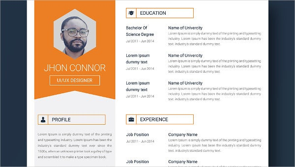 Graphic Designer Resume + Cover Letter + Portfolio Template For