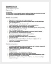Banquet Sous Chef Job Description Example PDF Free