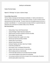 Lobby Hostess Job Description Word Format Free