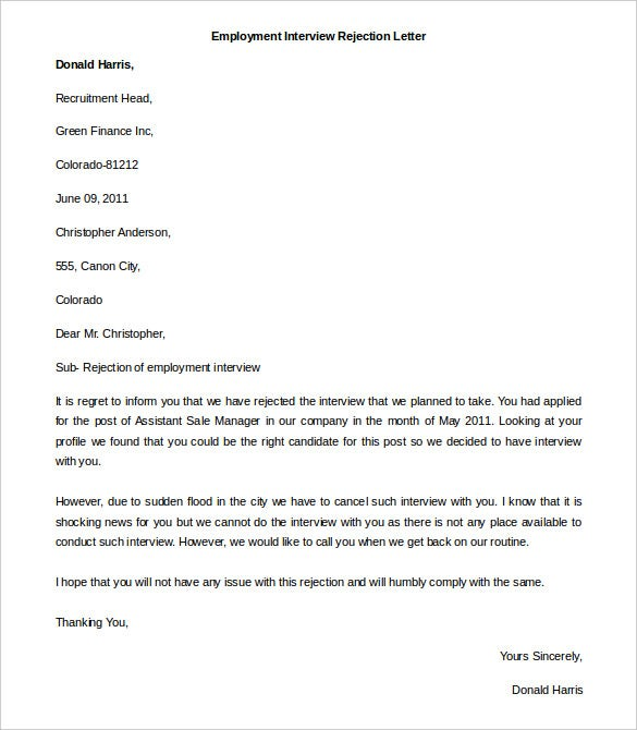Job Application Letter Template Word Uk