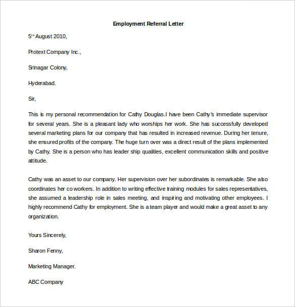 Cover Letter Format Sample - Monstercom