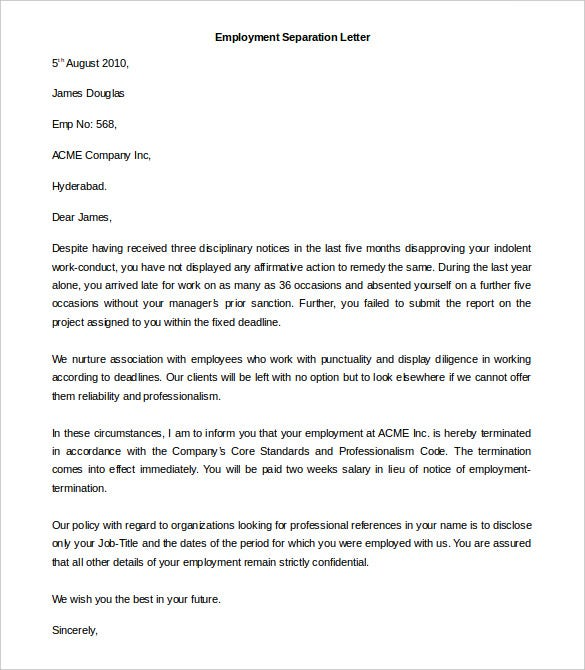 Employment format letter image collections letter format formal free employment letter template 28 free word pdf documents spiritdancerdesigns Images