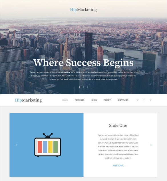 marketing agency responsive marketplace wordpress theme