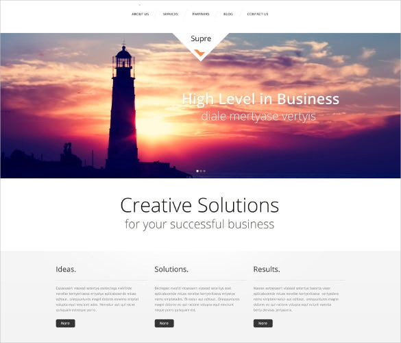 responsive business marketing wordpress theme
