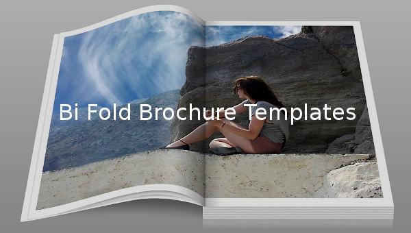 bi fold brochure template