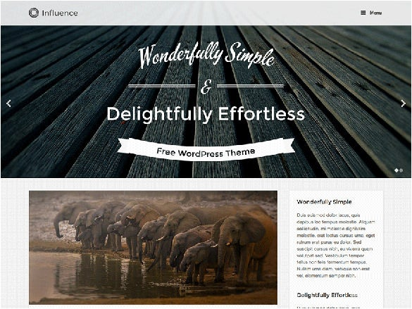 free beautiful content sharing wordpress theme