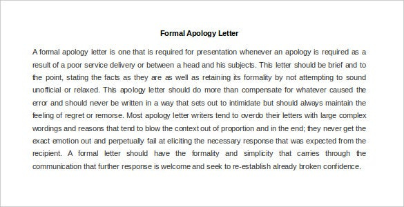 23 Best Formal Letter Templates Free Sample Example Format – Formal Condolences Letter