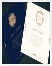 Professional Wedding Invitation Template